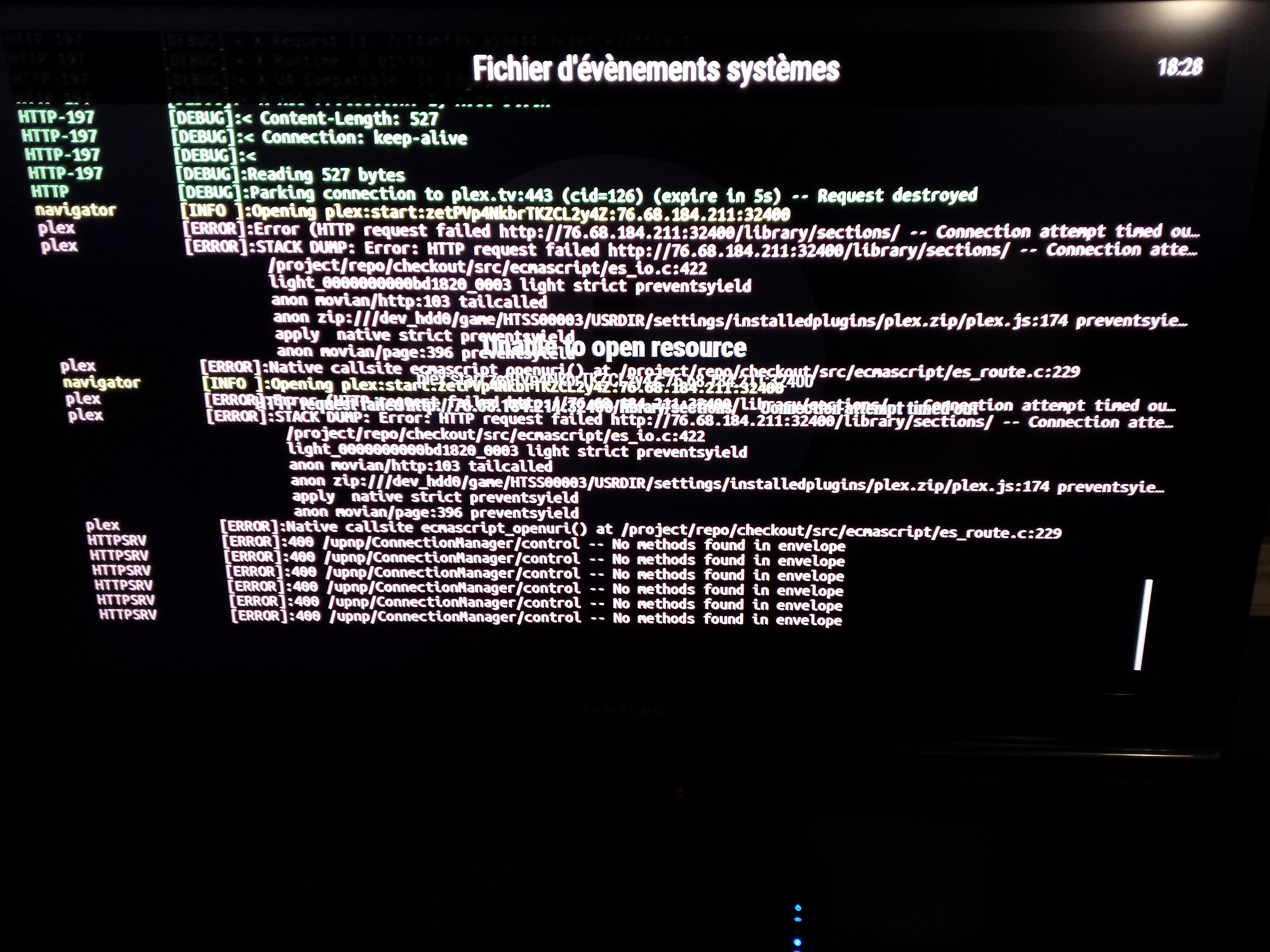 Bug #3237: PLEX plugin doesn't work on PS3 - Plugins - Movian